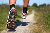 stock photo of shoe  - Trail running - JPG