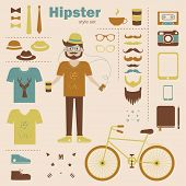 Hipster boy