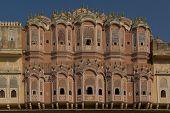 Hawa Mahal (palace Of Winds) In Jaipur