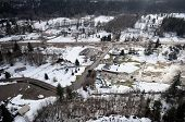 pic of mudslide  - Mudslides scar the hillsides of Washington state following heavy rain on top of snow - JPG
