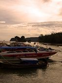 Boats In Ao Nang