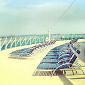 Summer Beach Chair on a Cruise