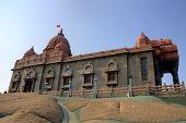 Swami Vivekananda memorial. Kanyakumari, Tamilnadu, India.