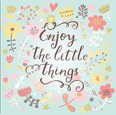 foto of blue things  - Enjoy the little things - JPG