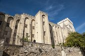 Palace Of Popes, Avignon, France