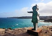Sculpture By The Sea Exhibit At Bondi Australia