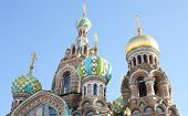 Church of the Savior on Blood located in the historic center of St. Petersburg, Russia