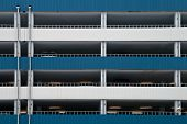 Multilevel Car Parking Facade Wall Texture