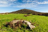 Cornwall countryside Zennor near St Ives England UK