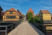 The Old Town in Aarhus, Denmark
