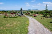 Garden Path In Slovak Arboretum