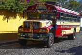 Chicken Bus, Guatemala