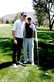 LOS ANGELES - APR 14:  Jack Wagner, James Caan at the Jack Wagner Anuual Golf Tournament benefitting