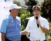 LOS ANGELES - APR 14:  Dennis Wagner, Jack Wagner at the Jack Wagner Anuual Golf Tournament benefitting LLS at Lakeside Golf Course on April 14, 2014 in Burbank, CA