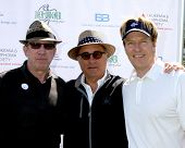 LOS ANGELES - APR 14:  Tim Allen, Andy Garcia, Jack Wagner at the Jack Wagner Anuual Golf Tournament