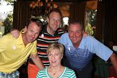 LOS ANGELES - APR 14:  Dennis Wagner Family at the Jack Wagner Anuual Golf Tournament benefitting LL