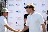 LOS ANGELES - APR 14:  David Spade, Jack Wagner at the Jack Wagner Anuual Golf Tournament benefittin