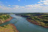 Paraná River, Brazil, Paraguay