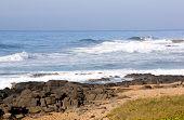 Deserted Sheffield Beach North Of Durban South Africa