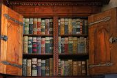 stock photo of medieval  - An image of Medieval books dating from as early as 15th Century Europe - JPG