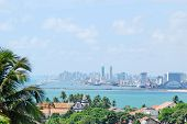 A view of Recife from the hills of Olinda