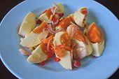 Salted Egg Salad Thai Food