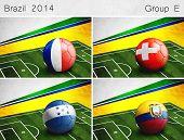 Brazil 2014, Group E