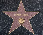Diana Ross Star On The Walk Of Fame