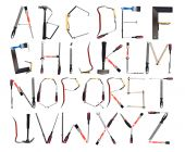 The Alphabet Formed By Tools