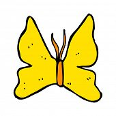 cartoon butterfly symbol