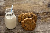 Milk And Cookies Childhood Treat