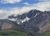 Beautiful Alaska Mountains In Denali National Park