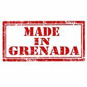 Made In Grenada-stamp