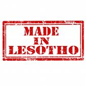 Made In Lesotho-stamp