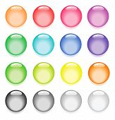 Colorful pearl like buttons