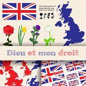 England Symbols Set
