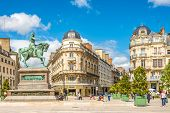 The Statue Of Jeanne D Arc At The Place Du Martroi