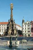 The Arion Fountain at Upper Square in Olomouc