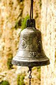 Aged church bell