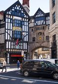LONDON, UK - 22 JULY, 2014: Liberty house 1875, luxury shop and office building in the centre of Lon