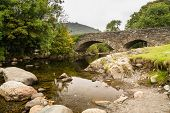 Ulpha Bridge In Duddon Valley