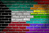 Dark Brick Wall - Lgbt Rights - Kuwait