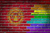 Dark Brick Wall - Lgbt Rights - Kyrgyzstan