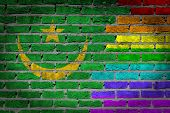 Dark Brick Wall - Lgbt Rights - Mauritania