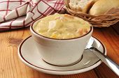 Cup Of Chicken Chowder