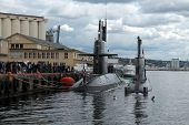 Dutch and Norwegian submarines in Oslo