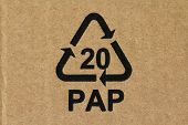Recycling code 20 PAP