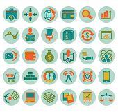 Set Of Social Media Marketing Icons