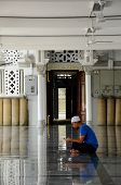 Man in the Zahir Mosque