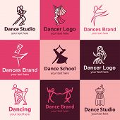 Dance Icons Vector Set